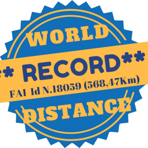 AIRFER WON the DISTANCE WORLD RECORD in TANDEM FLIGHT