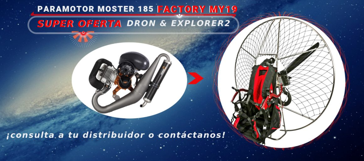 OFERTA Paramotor AIRFER Moster FACTORY MY19