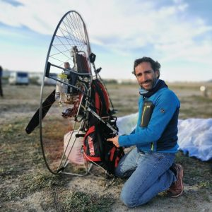 """Among-Seas"" Paramotor Race – FIRST POSITION: Vicente Palmero-AIRFER Pilot"